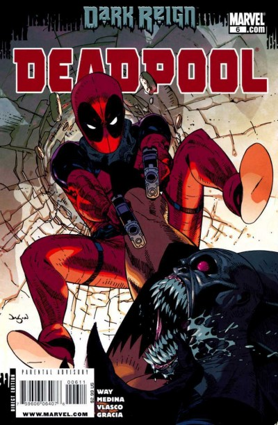 Deadpool (2008) #6 VF/NM Jason Pearson Cover Dark Reign