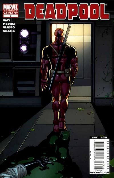 Deadpool (2008) #3 VF/NM 2nd Printing Paco Medina Variant Cover