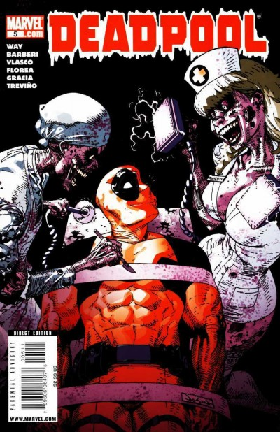 Deadpool (2008) #5 VF/NM Jason Pearson Cover