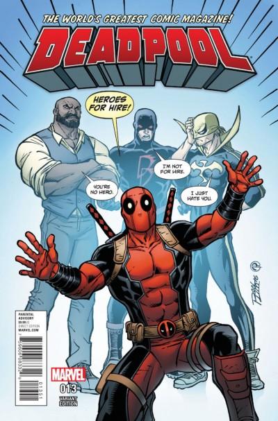 Deadpool (2015) #13 VF/NM Ron Lim Variant Cover