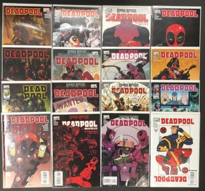 Deadpool (2008) #'s 1-63 + Annual #1 + More VF/NM Set of 67 Books