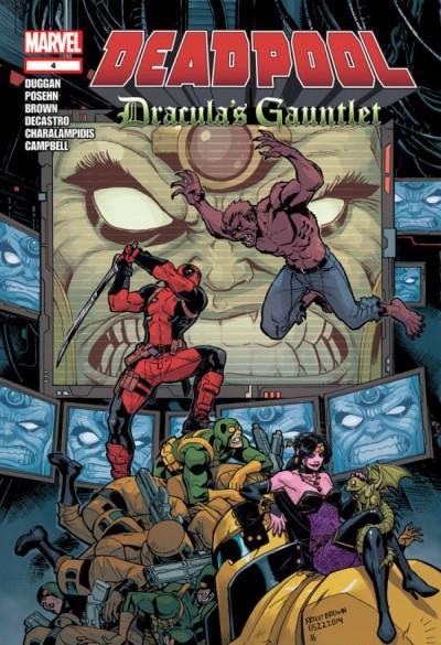 Deadpool: Dracula's Gauntlet (2014) #4 OF 7 VF/NM