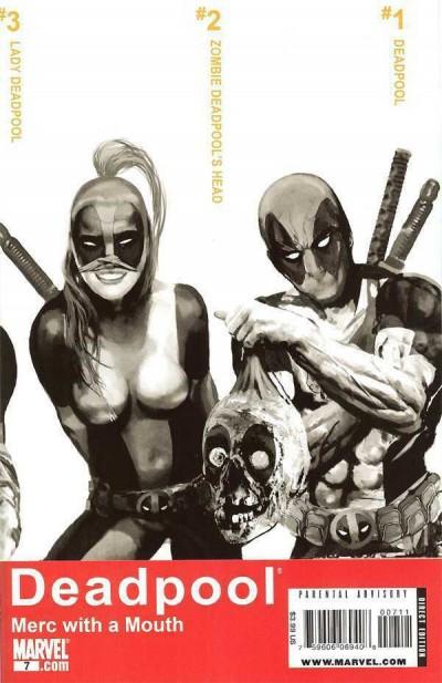 Deadpool: Merc With a Mouth (2009) #'s 3 5 6 8 10 11 & 7 1st App Lady Deadpool
