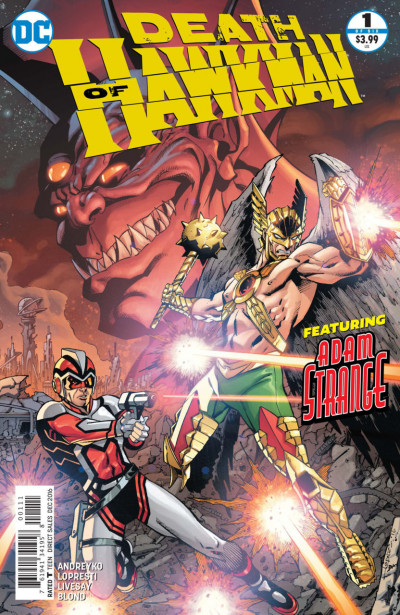 Death of Hawkman (2016) #1 of 6 VF/NM Aaron Lopresti Cover