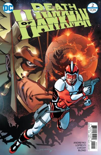 Death of Hawkman (2016) #2 of 6 VF/NM Aaron Lopresti Cover