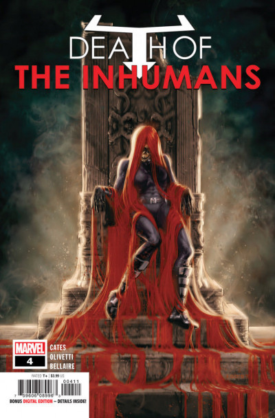 Death of the Inhumans (2018) #4 VF/NM (9.0) Donny Cates
