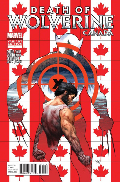 Death of Wolverine (2014) #1 VF/NM Canadian Variant Cover