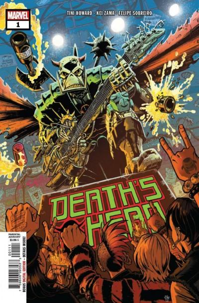 Death's Head (2019) #1 VF/NM