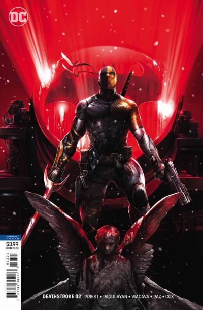 Deathstroke (2016) #32 VF/NM Francesco Mattina Variant Cover DC Universe