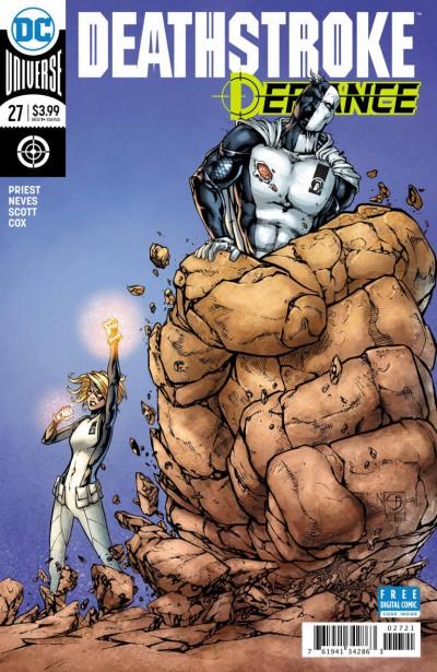 Deathstroke (2016) #27 VF/NM Shane Davis Cover DC Universe Rebirth
