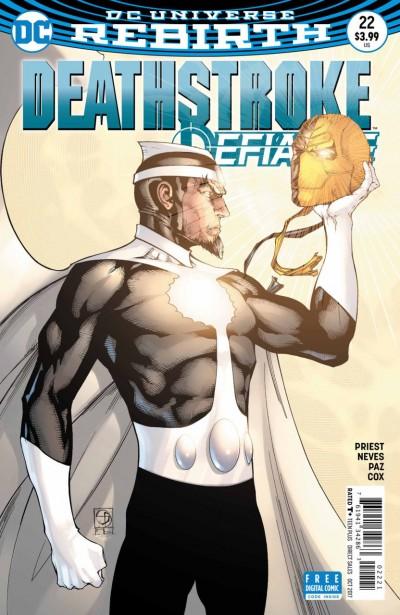 Deathstroke (2016) #22 VF/NM Shane Davis Cover DC Universe Rebirth