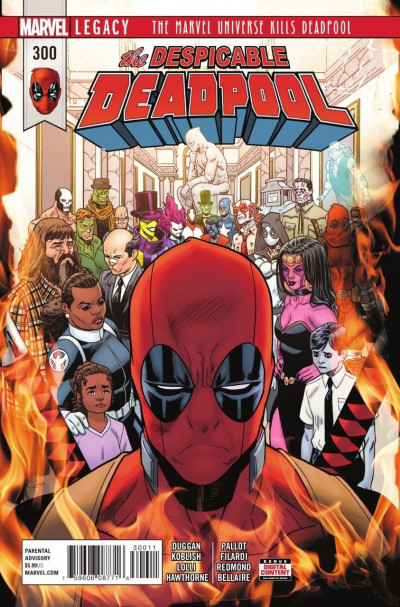 Despicable Deadpool (2017) #300 VF/NM