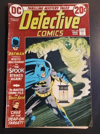 Detective #435 (1973) VG (4.0)  Dick Giordano, Irv Novick, Frank Robbins |