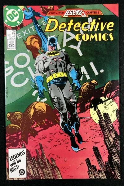Detective Comics (1937) #568 NM (9.4) Legends Cross-Over Batman