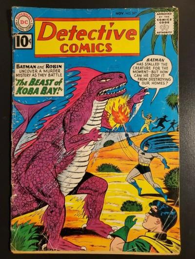 Detective Comics #297 (1961) G (2.0) Beast of Koba Bay|