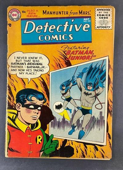 Detective Comics (1937) #231 FR (1.0) Batman and Robin Martian Manhunter Origin