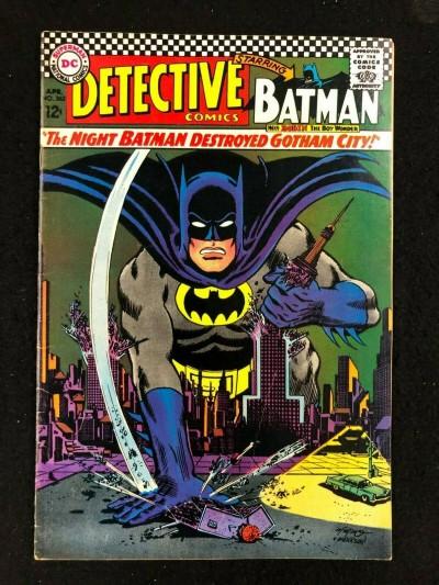 Detective Comics (1937) #362 FN/VF (7.0) Batman Riddler Story