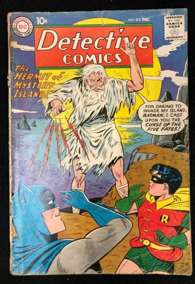 Detective Comics (1937) #274 GD (2.0) Batman and Robin