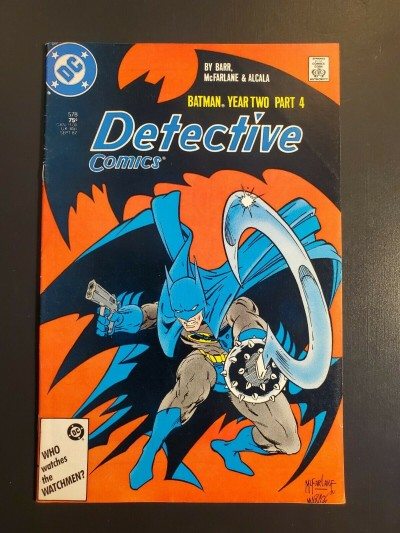 Detective Comics #578 (1987) F 6.0 Batman Year 2 Pt 4 Todd McFarlane DC Comics|
