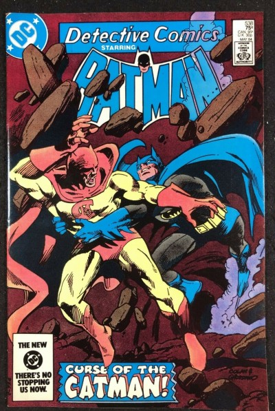 Detective Comics (1937) #538 NM (9.4) Batman vs Catman battle cover