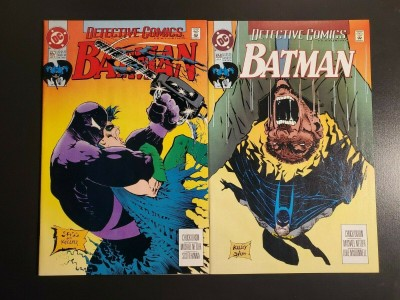 Detective Comics #657 #658 (1993) NM- 9.2 Sam Keith/Kelly Jones cover Azrael 