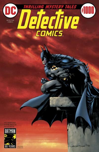 Detective Comics (1937) #1000 NM 9.4 Bernie Wrightson 1970's Batman Variant