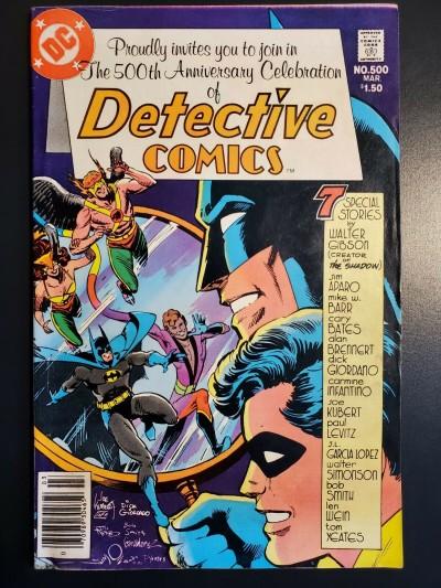 Detective Comics 500 1981 F+ 6.5 DC Simonson Infantino Kubert 80-pg Giant Aparo 