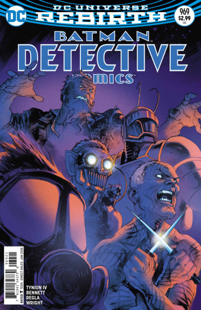Detective Comics (2016) #969 VF/NM Variant Cover DC Universe Rebirth