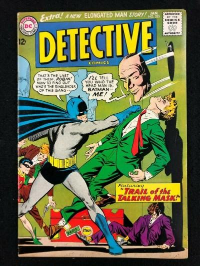 Detective Comics (1937) #335 FN+ (6.5)
