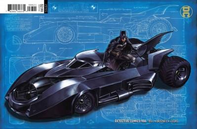 Detective Comics (2016) #986 VF/NM Mark Brooks Batmobile Batman Variant Cover