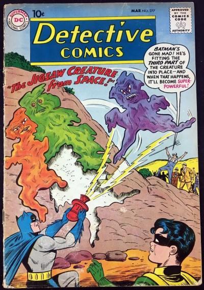 Detective Comics (1937) #277 GD/VG (3.0) featuring Batman & Robin