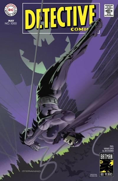 Detective Comics (1937) #1000 NM (9.4) Jim Steranko 1960's Variant Cover Batman
