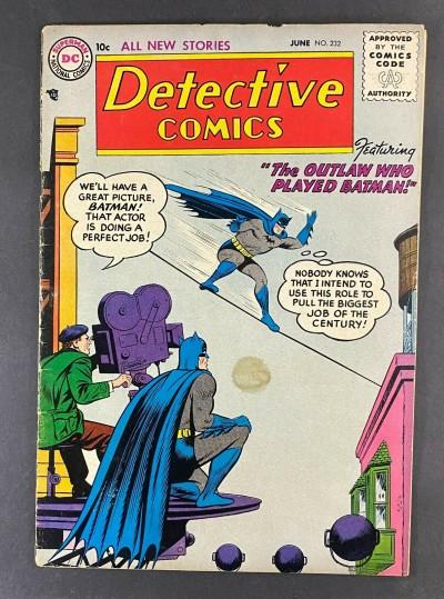 Detective Comics (1937) #232 VG/FN (5.0) Batman and Robin Dick Sprang Art