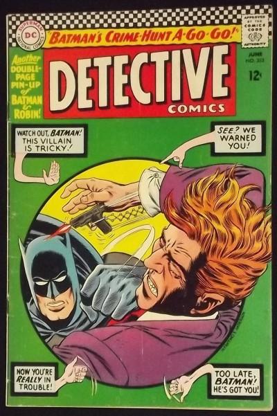 DETECTIVE COMICS #352 VG/FN BATMAN
