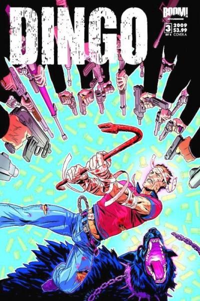 DINGO #3 OF 4 NM COVER A BOOM! STUDIOS