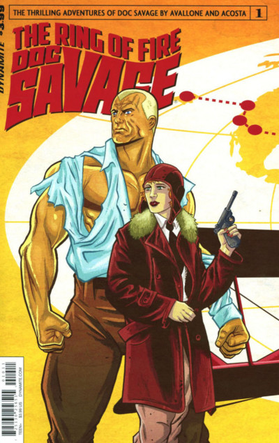 Doc Savage: The Ring of Fire (2017) #1 VF/NM Dynamite