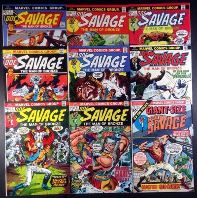 Doc Savage (1966) (1972) (1987) (1988) 1-24 + Ann & GS Gold Key Marvel DC 3 sets