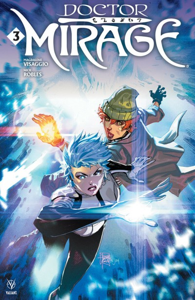 Doctor Mirage (2019) #3 VF/NM Philip Tan Cover A Valiant