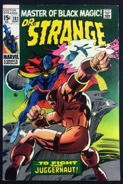 Doctor Strange (1968) #182 VF- (7.5) vs Juggernaut