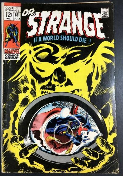 Doctor Strange (1968) #181 VG (4.0)