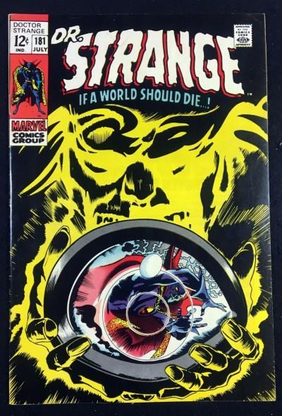 Doctor Strange (1968) #181 VF- (7.5) Nightmare Eternity Clea & Wong app