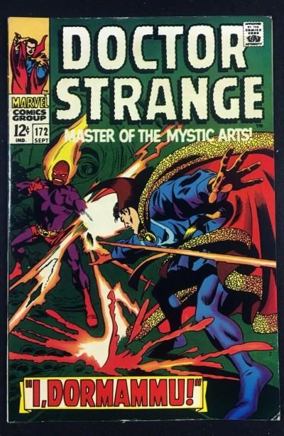Doctor Strange (1968) #172 VF- (7.5) vs Dormammu part 2 of 3