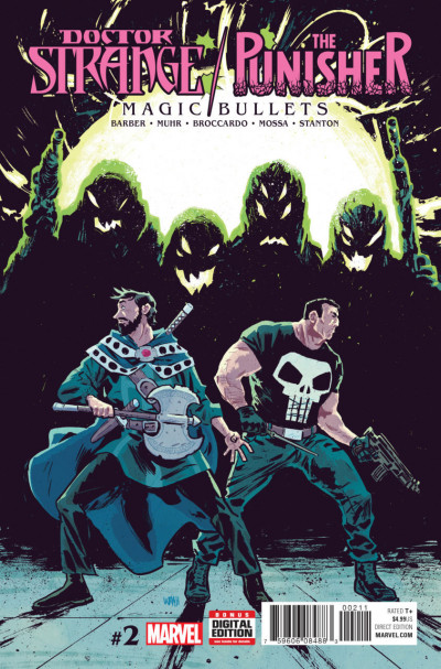 Doctor Strange/Punisher: Magic Bullets (2016) #2 VF/NM Michael Walsh Cover