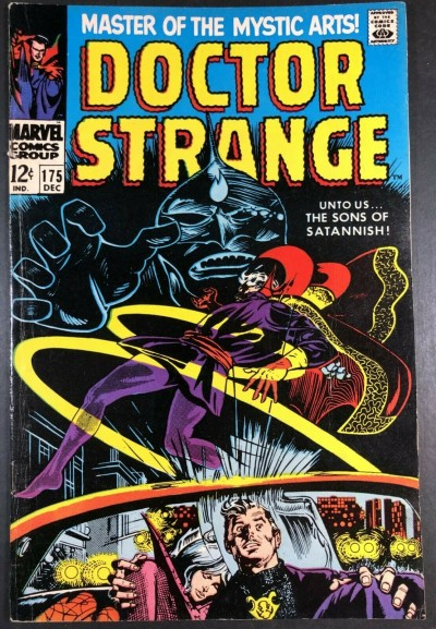 Doctor Strange (1968) #175 FN (6.0) versus Sons of Satannish