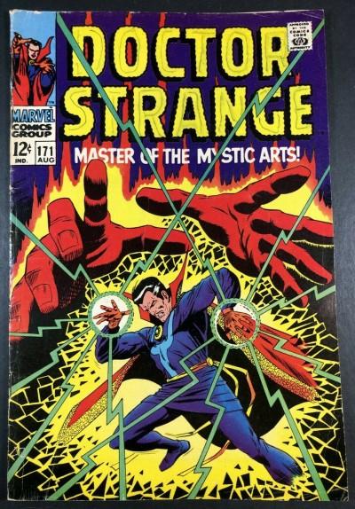 Doctor Strange (1968) #171 VG+ (4.5) vs Dormammu part 1 of 3