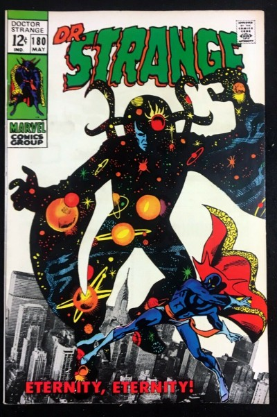 Doctor Strange (1968) #180 VF (8.0) Nightmare app Eternity photo montage cover