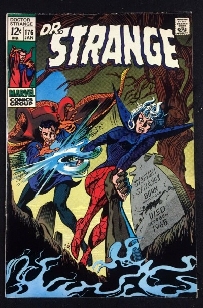 Doctor Strange (1968) #176 VF- (7.5) Clea cover