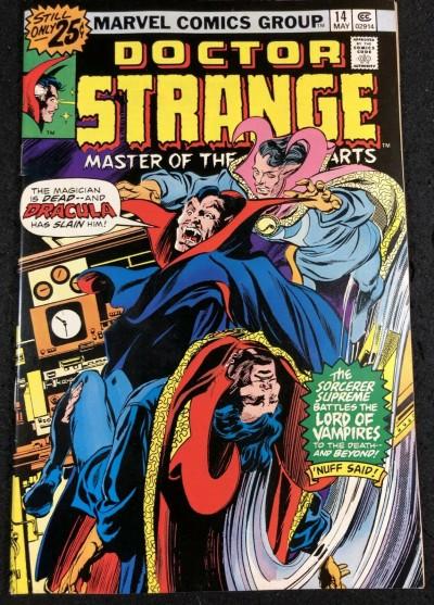 Doctor Strange (1974) #14 VF- (7.5) Dracula Cover by Gene Colan
