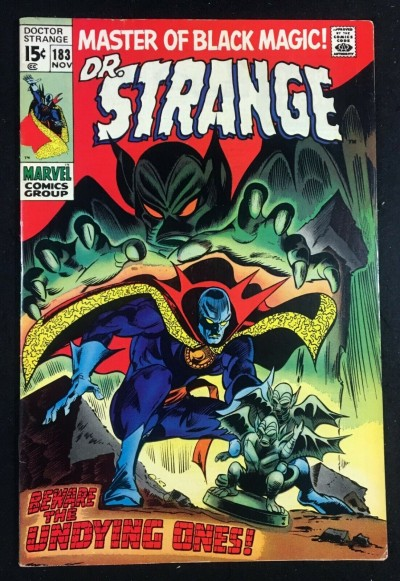 Doctor Strange (1968) #183 FN/VF (7.0) 1st app Undying Ones