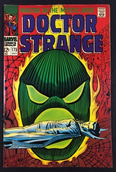 Doctor Strange (1968) #173 FN (6.0) vs Dormammu part 3 of 3